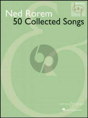 50 Collected Songs High Voice and Piano