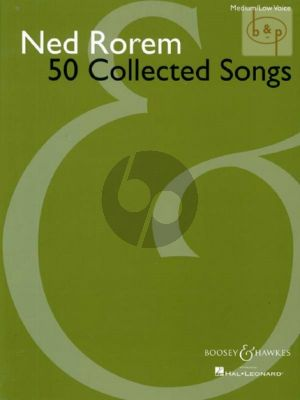 50 Collected Songs Medium Low Voice and Piano