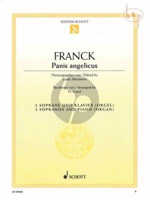 Panis Angelicus (2 Sopranos-Piano[Organ])