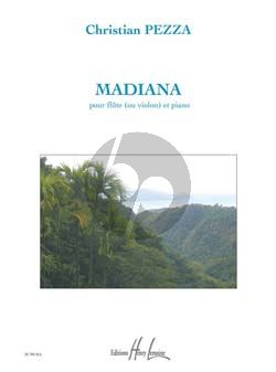 Pezza Madiana (Flute[Violin]-Piano) (grade 1)