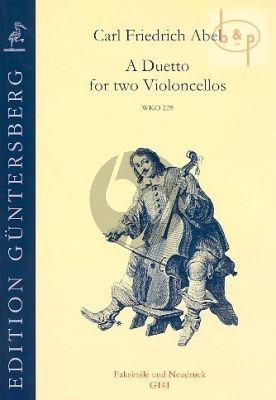 A Duetto (WKO 228) (2 Violoncellos)