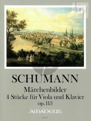 Marchenbilder (4 Pieces) Op.113 Viola-Klavier