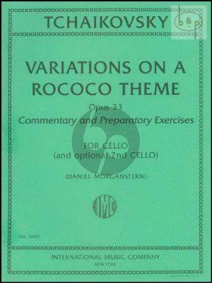 Variations on a Rococo Theme Op.33 (Solo Violoncello