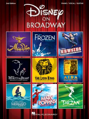 Disney Disney on Broadway 2nd. edition (Piano-Vocal-Guitar)