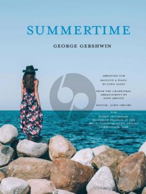 Gershwin Summertime for Bassoon and Piano (arr. Dave Arnold and John Alley) (advanced level)