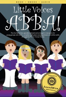 Little Voices ABBA 2 Part-Piano (Book with Audio) (arr, Barrie Carson Turner)
