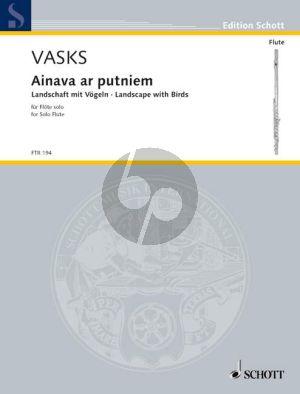 Vasks Ainava ar putniem (Landscape with Birds) (1980) Flute solo
