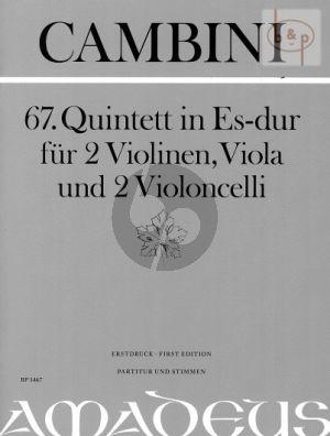 Quintet No.67 E-flat major (Score/Parts)