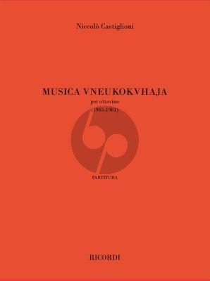 Castiglioni Musica Vneukokvhaja per Ottavino