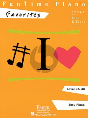 FunTime® piano Favorites Level 3A - 3B