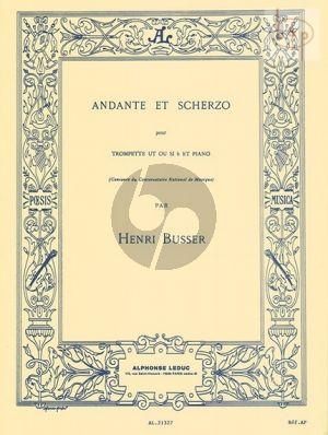 Andante & Scherzo Op.44