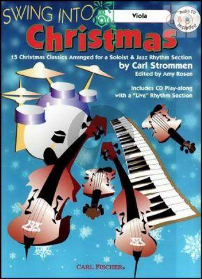 Swing into Christmas (15 Christmas Classics) (Viola) (Bk-Cd)