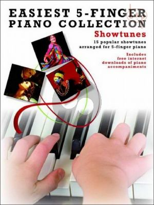 Easiest 5 Finger Piano Collection Showtunes