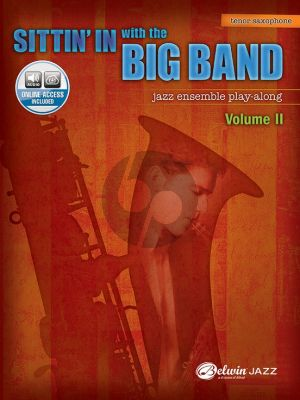 Sittin'in with the Big Band Vol. 2 for Tenor Saxophone (Book with Audio online)