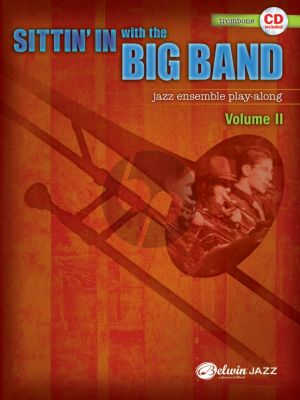 Sittin'in with the Big Band Vol. 2 for Trombone (Bk-Cd)