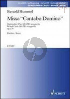 Missa Cantabo Domino Op.16