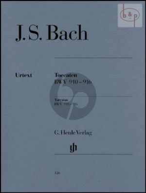 Toccaten (BWV 910 - 916) (without fingering)