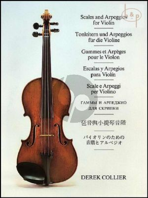 Scales and Arpeggios Scales & Arpeggios Violin