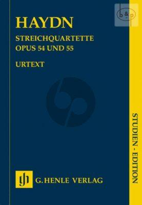 Streichquartette Op.54 and Op.55 Study Score