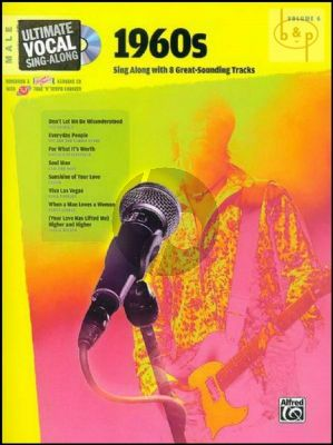 Ultimate Vocal Sing-Along Vol.6 1960's (Male Voice)