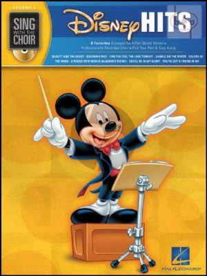 Disney Hits Bk-Cd