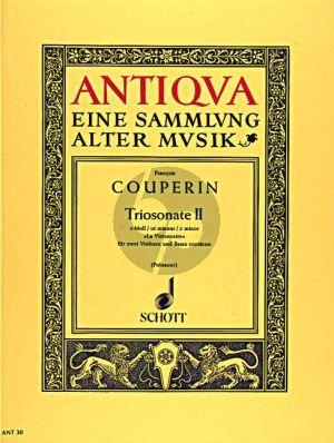 Couperin Triosonata No.2 c-minor (La Visionnaire) 2 Violins-Bc