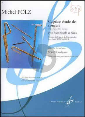 Caprice-Etude de Concert (orig. Flute)