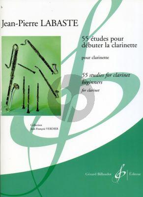 Labaste 55 Etudes pour Debuter Clarinette