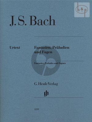 Fantasien-Praeludien und Fugen (edition without fingering!!)