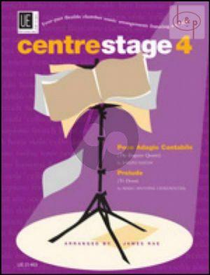 Centre Stage 4 (4 Part Flexible Chamber Music Arrangements Featuring a Soloist) (Score/Parts)