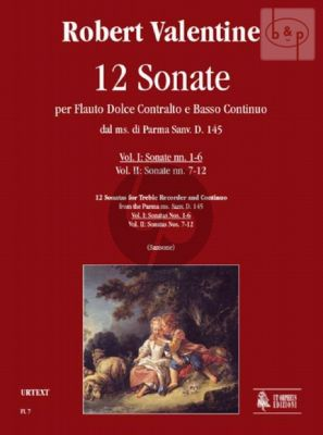 12 Sonatas from the Parma Ms. Sanv.D.145 Vol.1