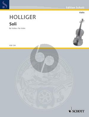 Holliger Soli Violone solo (from Concerto for Orchestra) (2000 - 2001) (grade 5)