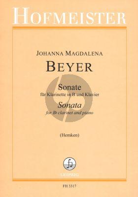Beyer Sonata for Clarinet-Piano (edited by V.Hemken) (interm.-adv.)