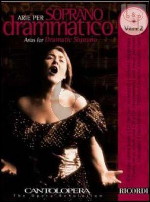 Arias for Dramatic Soprano Vol.2 (Voice-Piano)