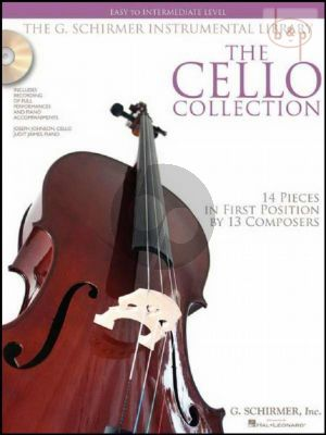 The Cello Collection Easy-Intermediate Level (14 Pieces in the 1st.Pos.)