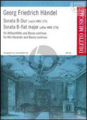 Sonata B-flat major