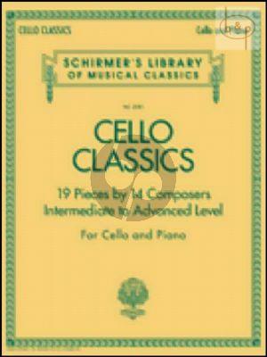 Cello Classics Intermediate to Advanced Level