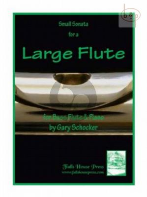 Small Sonata for a Large Flute (Bass Flute-Piano