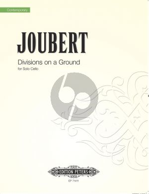 Joubert Divisions on a Ground Op. 154 Cello solo