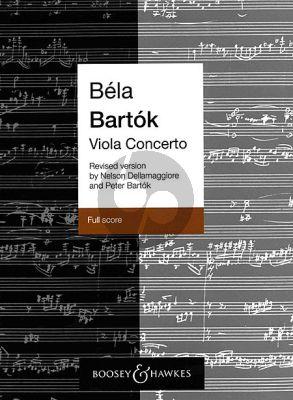 Concerto Op. Posth. Viola Score