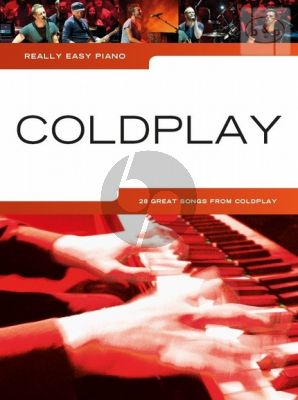 Really Easy Piano Coldplay