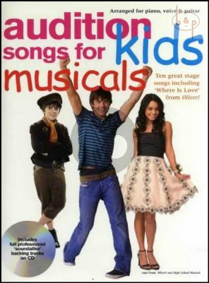 Audition Songs for Kids Musicals
