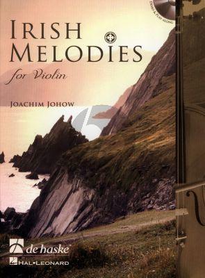 Johow Irish Melodies for Violin (Pos.1 - 3) (Bk-Cd) (interm.-adv.)