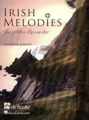 Johow Irish Melodies for Treble Recorder (Bk-Cd) (interm.-adv.)