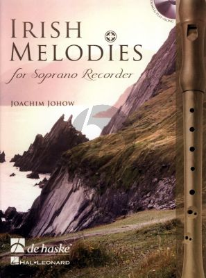 Johow Irish Melodies for Descant Recorder (Bk-Cd) (interm.-adv.)