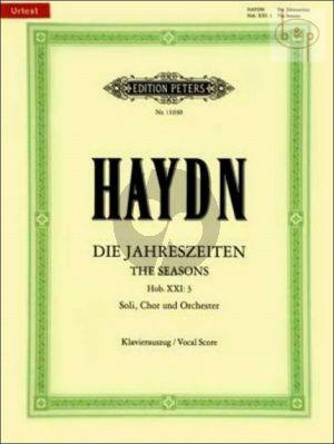 Die Jahreszeiten Hob.XXI:3 (Vocal Score) (dt./engl.)