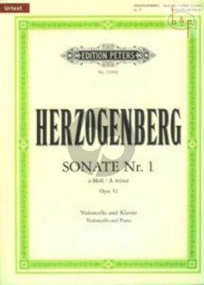 Sonata No.1 a-minor Op.52