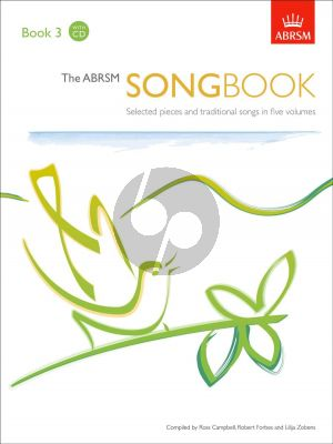 ABRSM Songbook Book 3 Voice and Piano (Book with 2 CD Set) (edited by Ross Campbell and Robert Forbes)