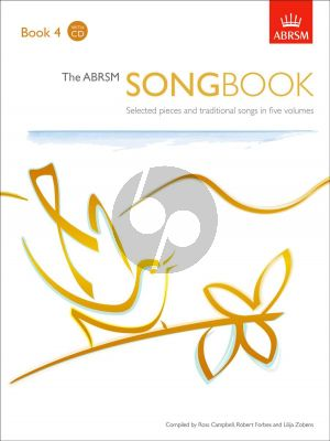 ABRSM Songbook Book 4 Voice and Piano (Book with 2 CD Set) (edited by Ross Campbell and Robert Forbes)
