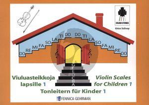 Szilvay Violin Scales for Children Vol.1 (Tonleitern fur Kinder 1)